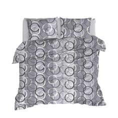 TEXBYT Obliečky bavlnené Kruhy - 2ks