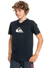 Quiksilver Comp logo ss youth EQBZT04369-BYJ0 fiú póló, 8, fekete
