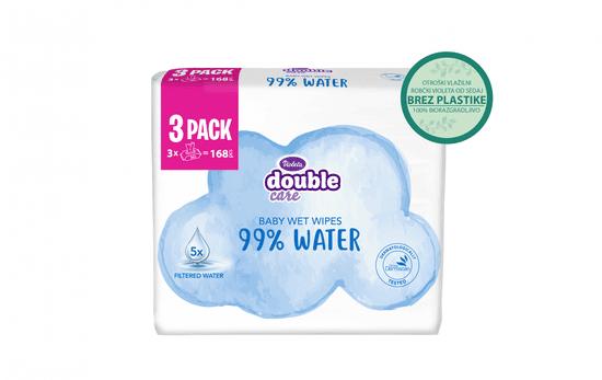 Violeta robčki Water Care, vlažilni, 3 x 56/1