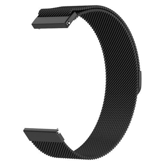 BStrap Huawei Watch GT2 Pro Milanese pašček, Black