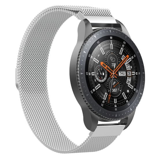 BStrap Huawei Watch GT 42mm Milanese remienok, Silver