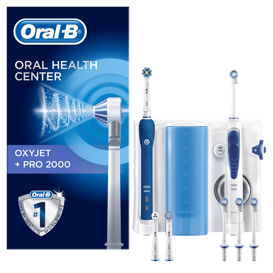 Oral-B električna zubna četkica i tuš Oxyjet+Pro2