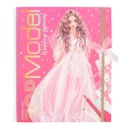 Top Model Kifestőkönyv   Hozza létre a legjobb modelljét - esküvői különlegesség, Lexy
