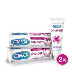 Corega fixační krém pro zubní náhradu Comfort 2x40g