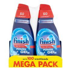 Finish All in 1 Max Shine & Protect gel do myčky nádobí 2 × 1000 ml