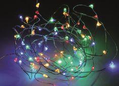 Pollin Novoletne lučke 80 LED RGB 4m