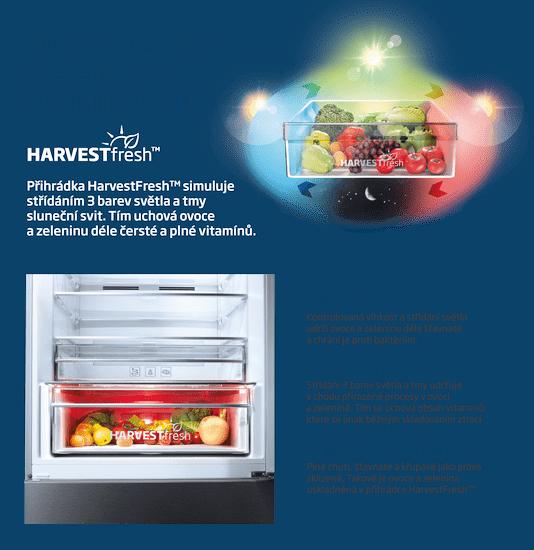 Beko lednice s mrazákem MCNA406E40ZXBN + 5 let záruky na díly i práci