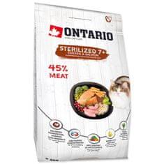 Ontario karma dla kotów wykastrowanych 7 + 2 kg