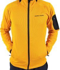 MAYA MAYA Moški pulover, jopica, softshell - Hiro, rumen - Polarbear tehnologija, S