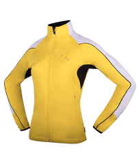 MAYA MAYA Ženska lahka nordijska jakna, softshell za tek, pohodništvo, treking, outdoor - Melesse jacket, rumena, XL