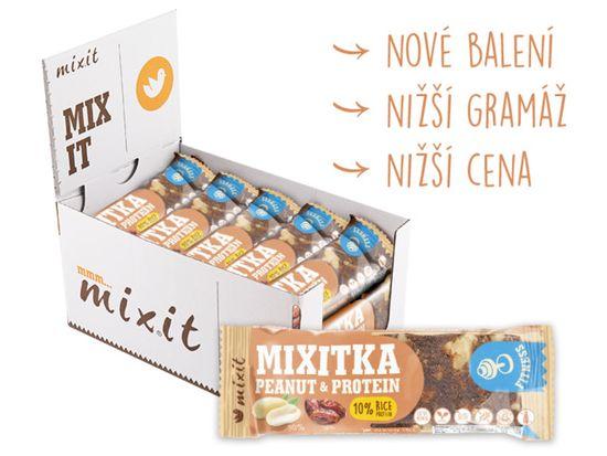 Mixit Mixitka bez lepku - Arašídy + Protein