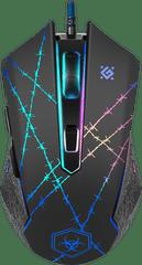 Defender Optična gaming miška Forced GM-020L + podloga
