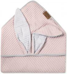 Floo For Baby dětská osuška pink rabbit