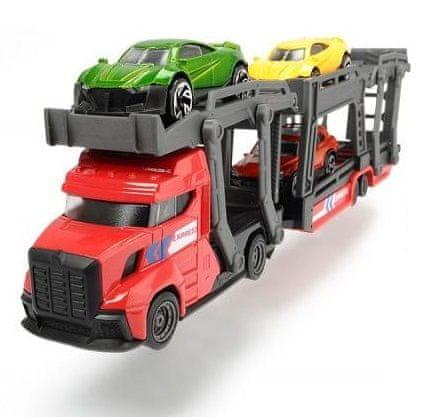 DICKIE Autotransportér 28 cm + 3 autíčka