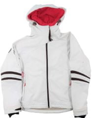 MAYA MAYA Ženska softshell zimska jakna, vodoodporna bunda, Climate control membrana - Akai Jacket, bela, XL