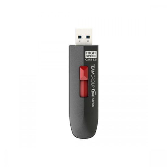 TeamGroup C212 USB stick 512 GB, USB 3.2, 600/500 MB/s