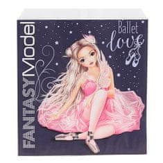 Top Model Papír zacskó , Kék, rózsaszín balerina