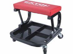Extol Premium Stolička s úložným priestorom, 4 kolieska, 330x355x355mm, 3,5kgs