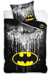 Carbotex Dětské povlečení Batman Steel Logo