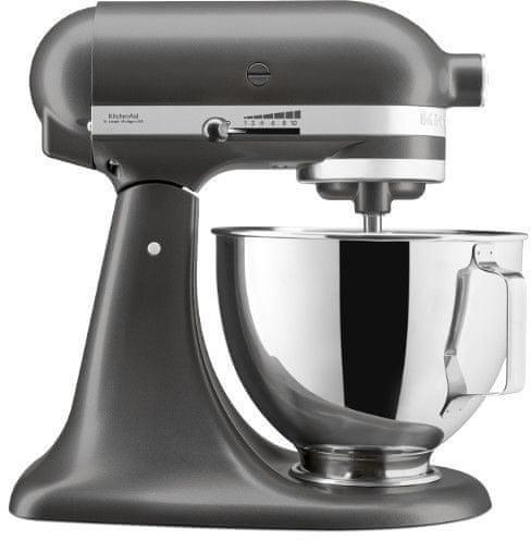 KitchenAid 5KSM95PSESZ kuhinjski robot, 4,3 l, srebrni
