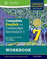 Complete English for Cambridge Lower Secondary Student Workbook 7 (First Edition)