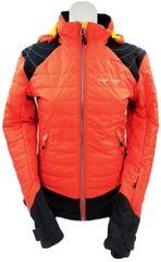 MAYA MAYA Ženska športna, treking, smučarska jakna - Takisha jacket s Primaloft izolacijo, Oranžna, XS
