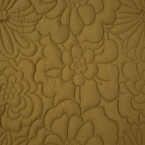 My Best Home Přehoz na postel ALARIA 220X240 cm - MUSTARD/hořčicová