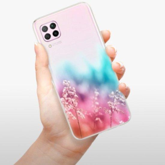 iSaprio Rainbow Grass szilikon tok Huawei P40 Lite