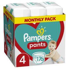 Pampers Pants 4 (9-15 kg) Plienkové nohavičky 176 ks - Mesačné balenie