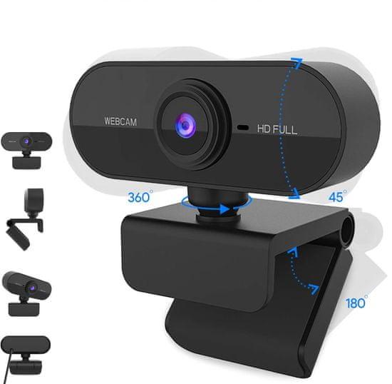 Robaxo RC100 V2.0 Full HD web kamera s mikrofonom