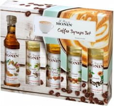 MONIN Sirup Monin Coffee set Mini 5 x 50 ml