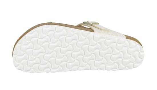 Birkenstock Obuv Gizeh BF Shiny Snake Cream Regular Fit farba biela | veľkosť 2.5 UK | 35 EU | 22,5 CM | 4 US