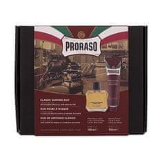Proraso Darčeková sada prípravkov na holenie Sandalwood Oil & Shea Butter