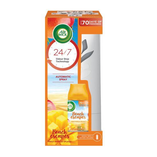 Air wick Freshmatic légfrissítő + Maui mangós csobbanás Spray 250 ml