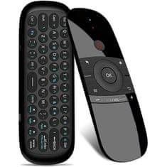 MG W1 univerzálny bezdrôtový diaľkový ovládač s klávesnicou, čierny