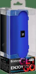 Defender Prenosni zvočnik Enjoy S500, modra