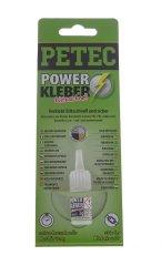 kltools Vteřinové lepidlo na plasty a kovy Power Kleber, 3 g - Petec