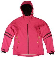 MAYA MAYA Ženska softshell zimska jakna, vodoodporna bunda, Climate control membrana - Akai Jacket, fucsia, XS
