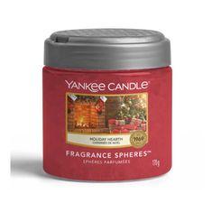 Yankee Candle Spheres vonné perly Holiday Hearth (Sváteční krb) 170g