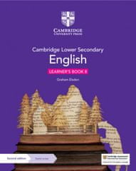 Cambridge Lower Secondary English Learner's Book 8 with Digital Access (1 Year)