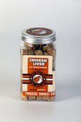 KIWI WALKER Kiwi Walker Mrazem sušená kuřecí játra, 130 g