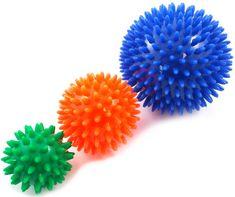 """Sundo Masážní míček pro podporu smyslového vnímání """"ježek"""", různé velikosti Průměr: 10 cm"""