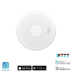 iQtech iQtech SmartLife Combo CO + Kouřový detektor, CS01W, Wi-Fi