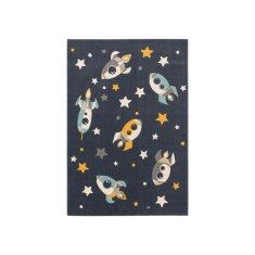 Jutex Kusový koberec Apollo 7204 modrý 1.20 x 1.70