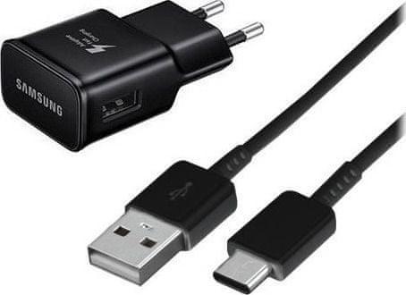 Samsung Ładowarka USB-C EP-TA20EBE Fast Charge, czarna