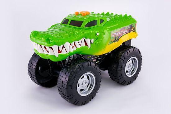 Nikko Wheelie Monsters Krokodil avto