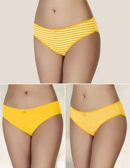 Sahinler Textile Klasické nohavičky, 3 ks v balení MB3071SR
