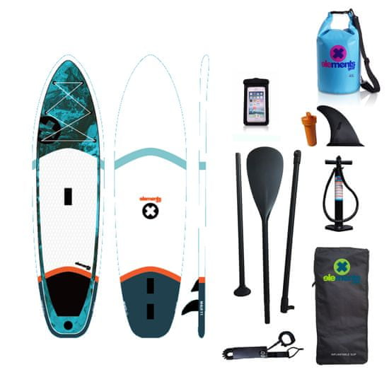 Elements Gear Malo 11 nafuovací paddleboard + obal na mobil a lodní pytel