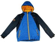 MAYA MAYA Ženska zimska bunda s snemljivo kapuco, Primaloft izolacija, modra, XL