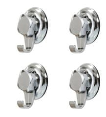 Compactor Háčky do koupelny bez vrtání - Bestlock systém, nosnost až 6 kg, široké, 4 ks